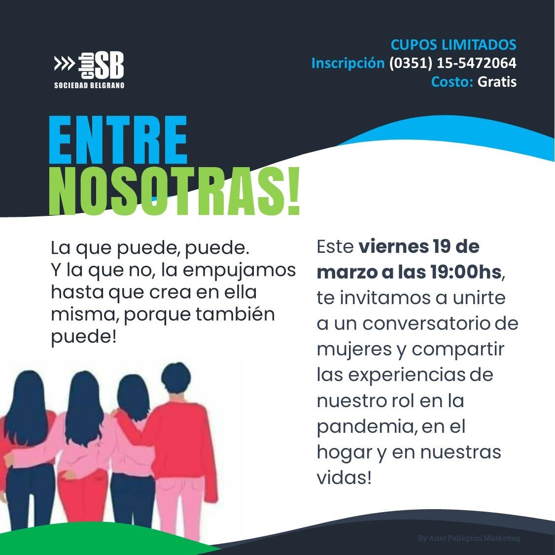 2021 03 16 - ENTRE NOSOTRAS